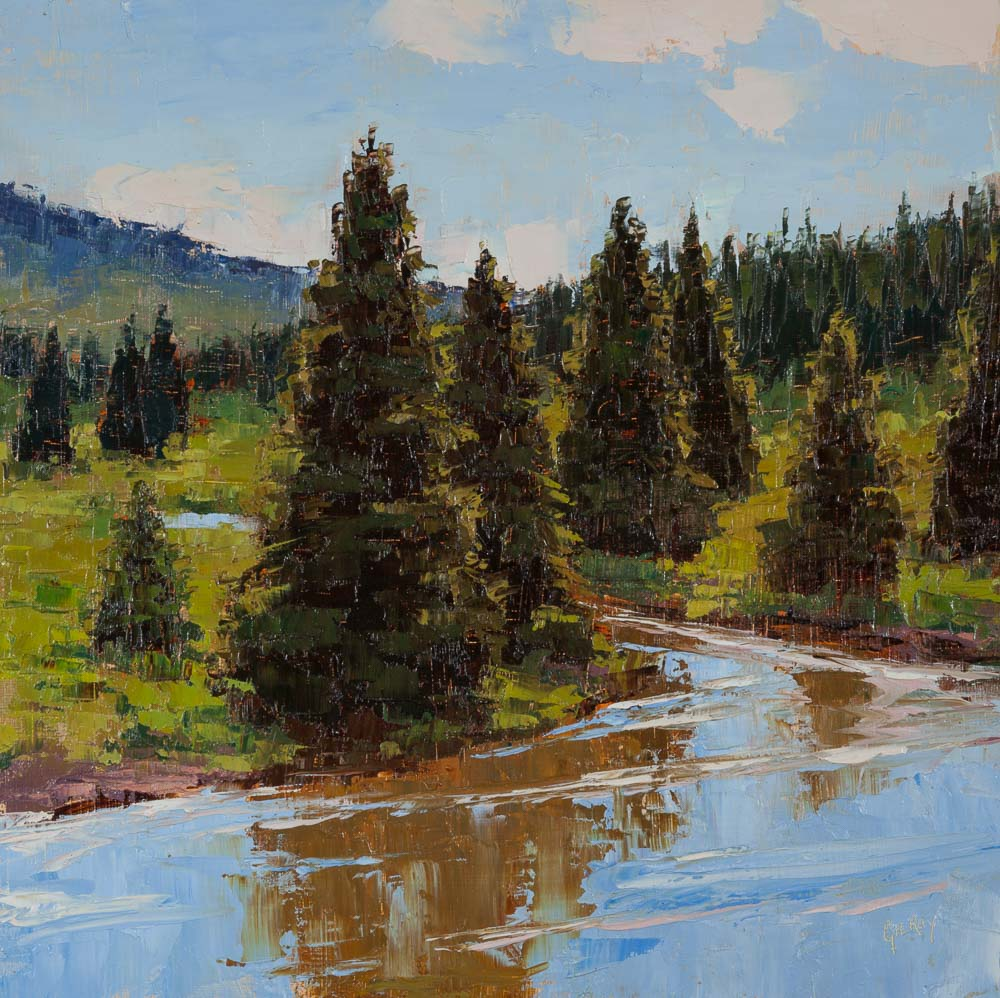 High Noon at Cutbank Creek by Denise Gilroy